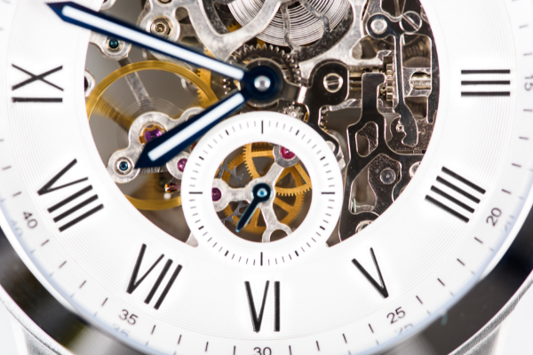 Automatic Men's Watch with Visible Mechanism