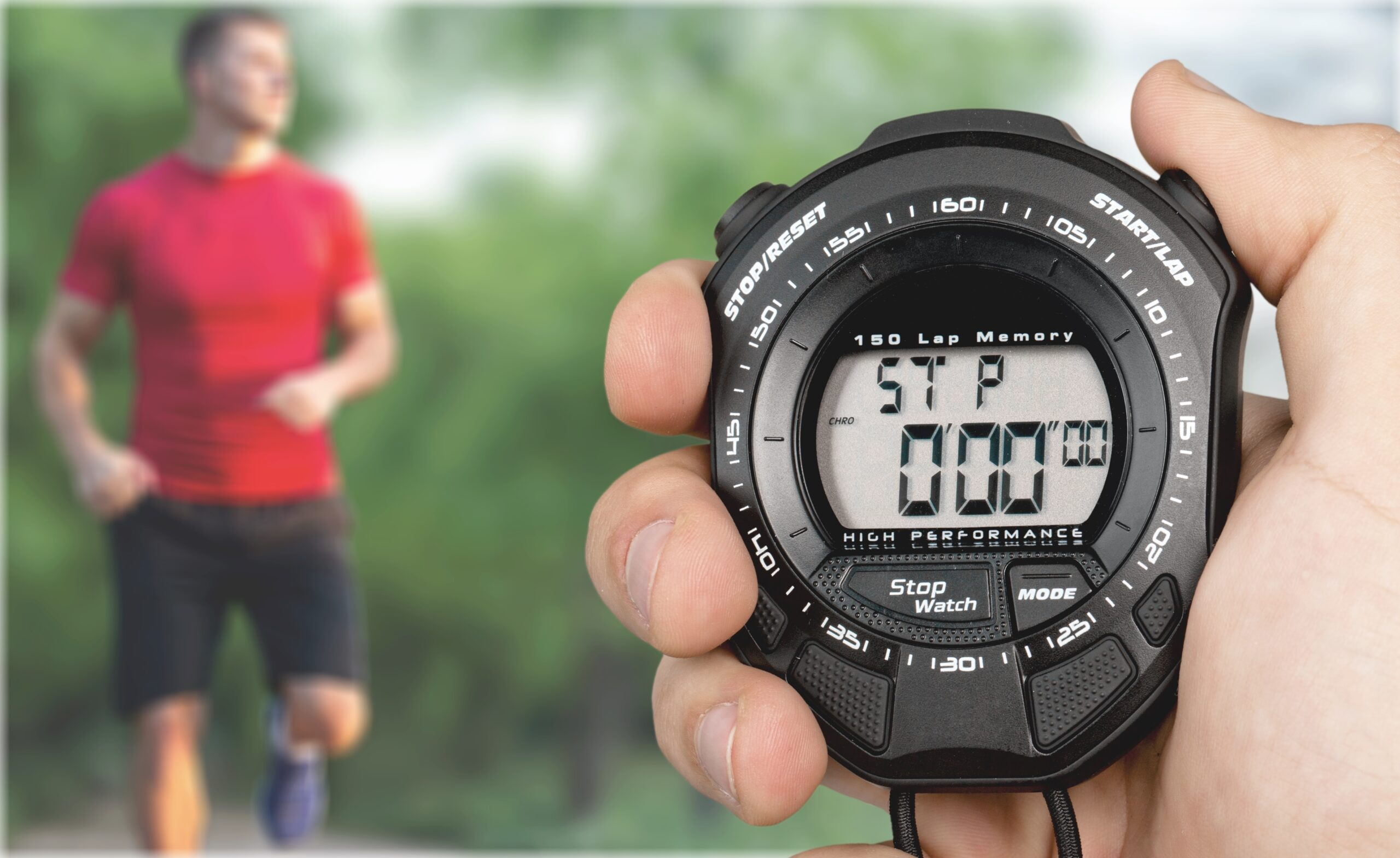 how to read a stopwatch