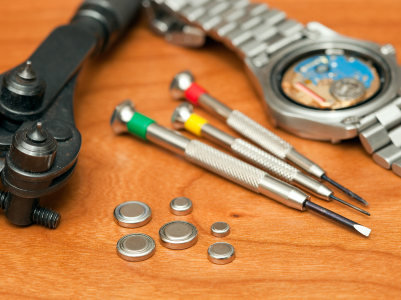 How to change a Tissot watch battery? How to open Tissot watch back cover? You need special tools.